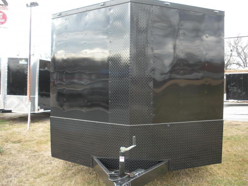 "2019 Anvil 8.5' X 20' ""Black Out"" 7K Car / Racing Trailer"
