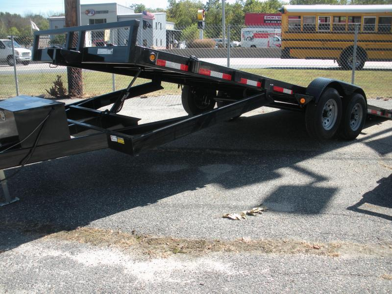 """2020 Quality Steel and Aluminum 83"""" X 20' 10K Steel Deck Power Up & Down Open Car / Racing Trailer"""