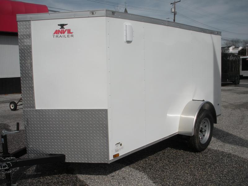 2020 Anvil 5' X 10' Single Axle Enclosed Cargo Trailer