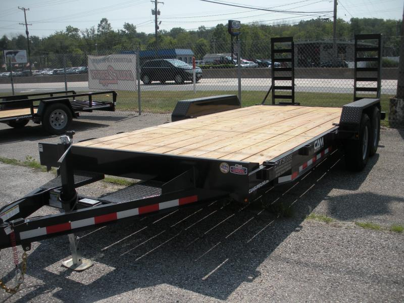 "2020 Cam Superline 82"" X 18' 10K Channel Frame with Beavertail  Equipment Trailer"
