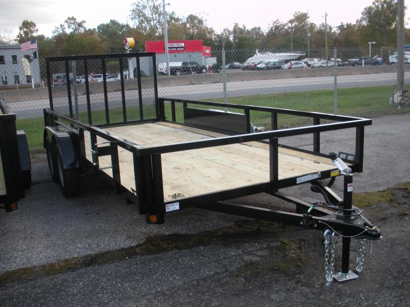 """2020 Quality Steel and Aluminum 82"""" X 16' Tandem Axle Utility Trailer"""