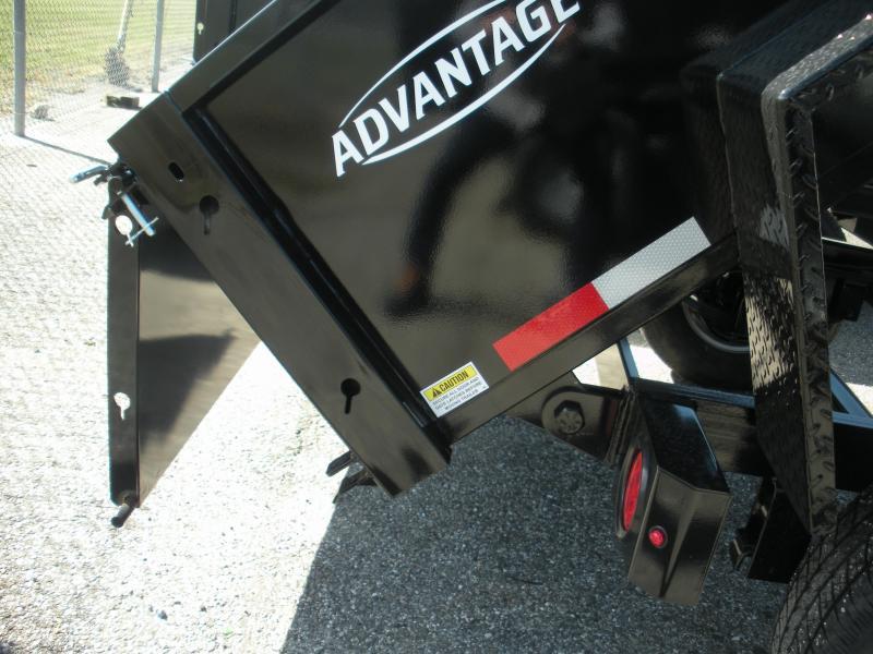 2020 Cam Superline 5' X 8' 5K Low Profile Dump Trailer