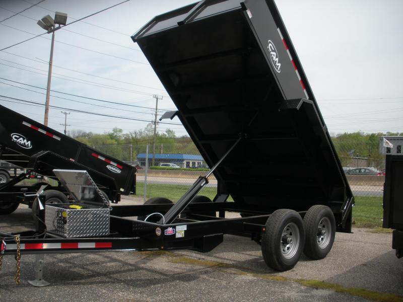 2019 Cam Superline 6' X 12' 10K Low Profile Dump Trailer