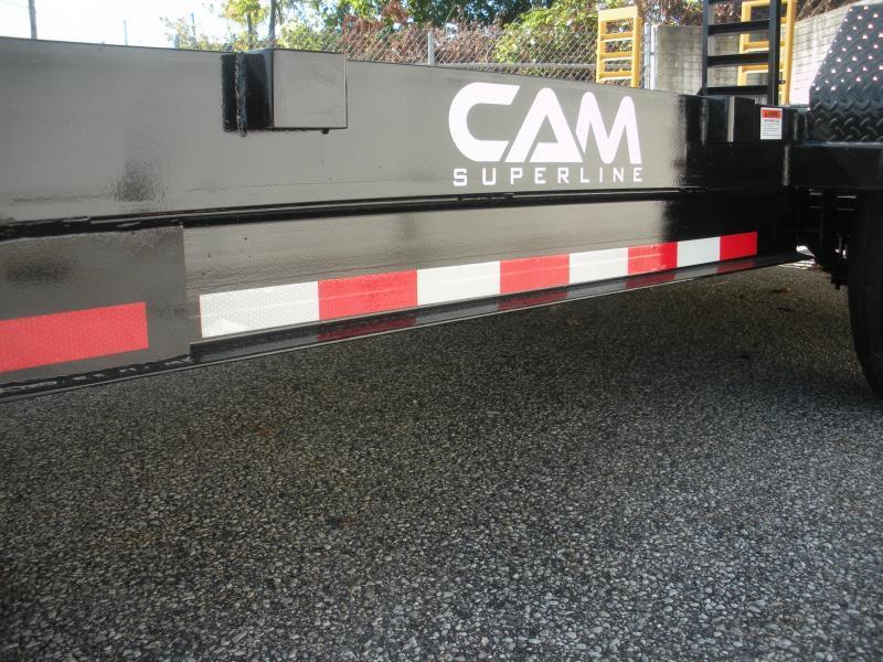 "2020 Cam Superline 82"" X 18' 14K Channel Frame with Beavertail  Equipment Trailer HOT DEAL!!"
