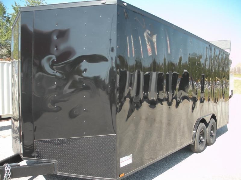 2019 Spartan 8.5' X 20' X 7' Height 10K Black/ Black Trim Car / Racing Trailer