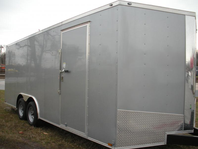 2020 Spartan 8.5' X 20' 7K Silver Frost with Thermo Ceiling Car / Racing Trailer