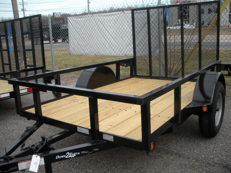 2019 Down 2 Earth Trailers 5X10 Utility Trailer