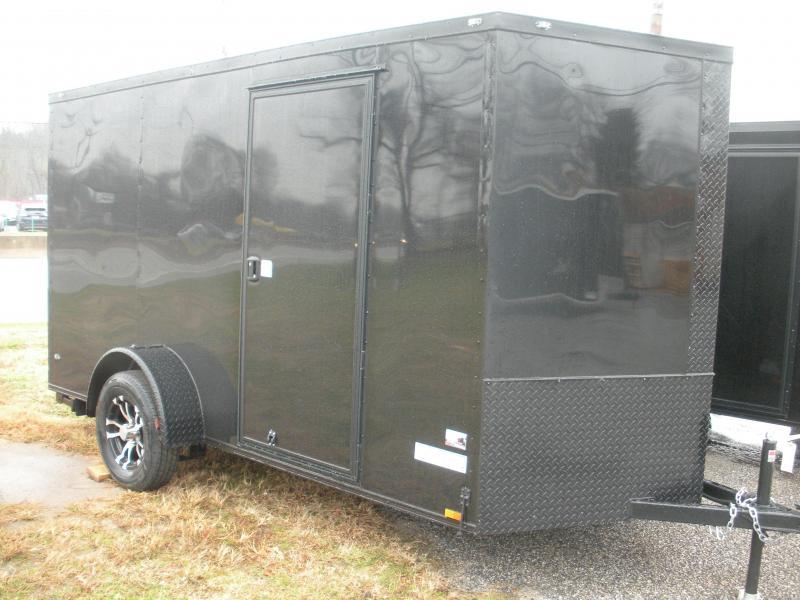 "2020 Anvil 6' X 12' Enclosed ""BLACKOUT"" Cargo Trailer"