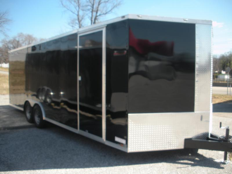 2020 Anvil 8.5' X 24' 7K Black Car / Racing Trailer