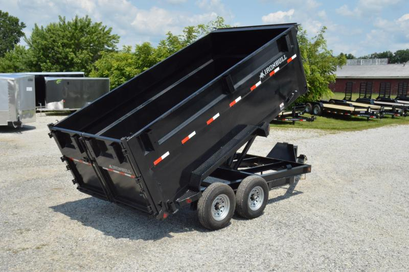 2019 Iron Bull 83X14 High Side Dump Trailer