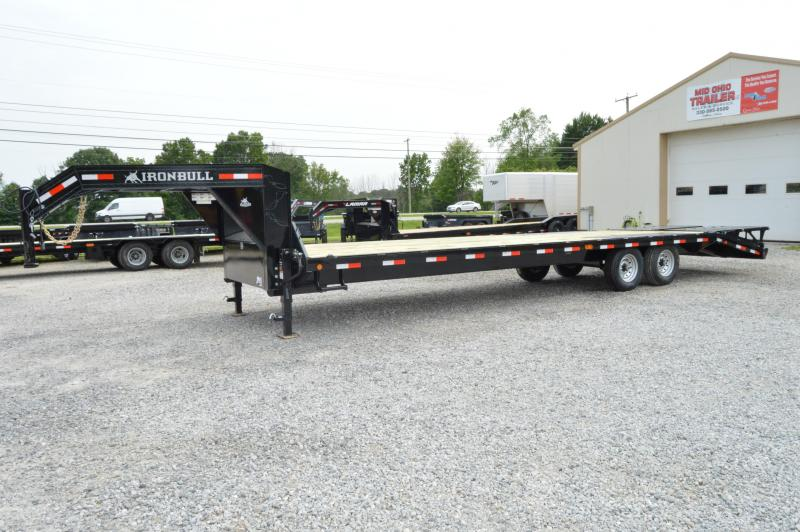 2019 Iron Bull 102x30 Deckover Gooseneck Equipment Trailer