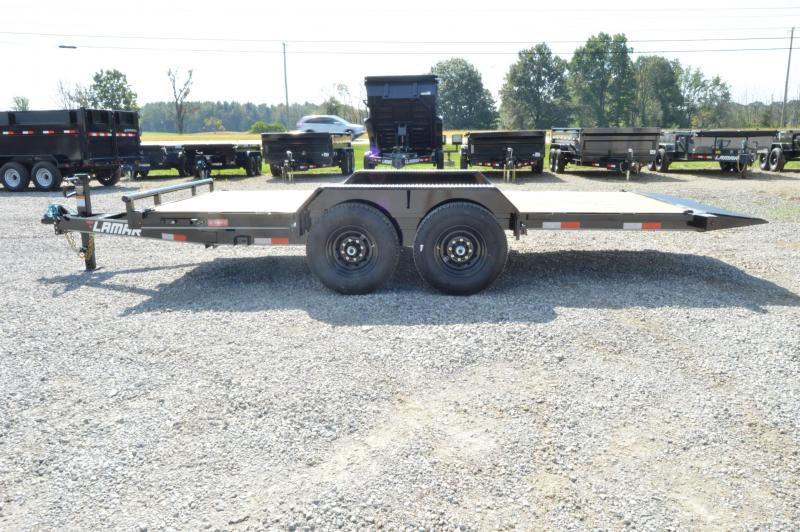 2020 Lamar Trailers 83x16 Tilt Equipment Trailer