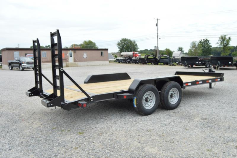 "2020 Iron Bull 83""X20' HAULER DOVE TAIL W/ FOLD UP Equipment Trailer"