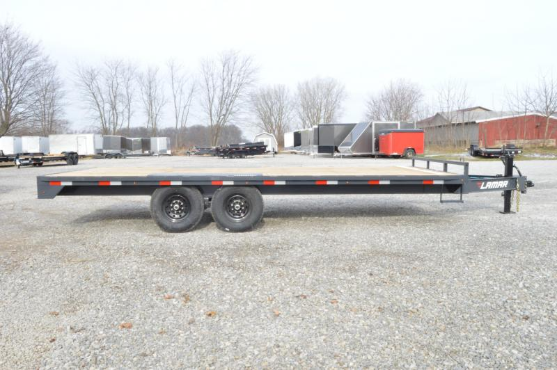 2020 Lamar Trailers 102x20 Deck Over Equipment Trailer