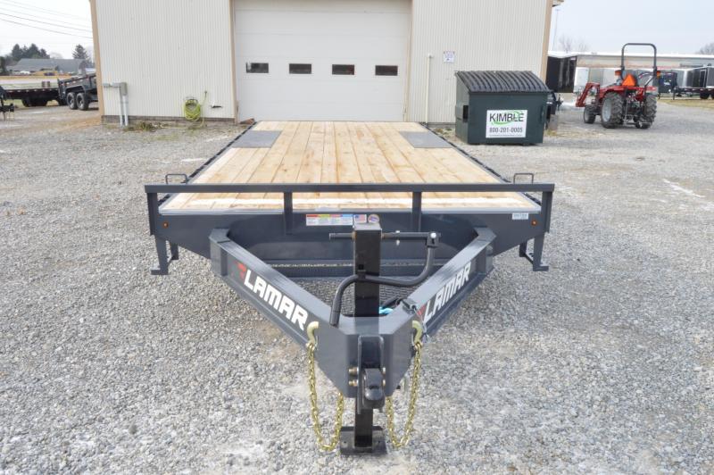 2020 Lamar Trailers 102x20 Deck Over Equipment Trailer