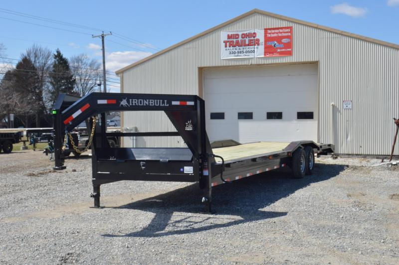 2019 Iron Bull 102x32 Gooseneck Equipment Trailer