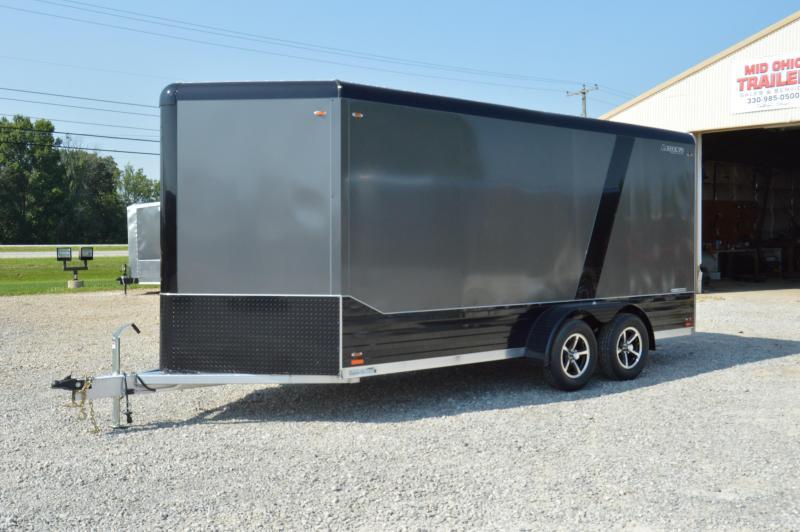 "2020 Legend Manufacturing 7X19 DVN Enclosed Cargo Trailer "" BLACKOUT EDITION"""