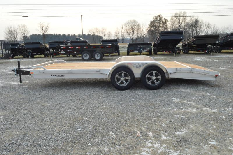 2020 Legend Manufacturing 7X18 Equipment Trailer