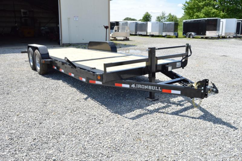 2019 Iron Bull 83x22 Tilt Low Pro Equipment Trailer