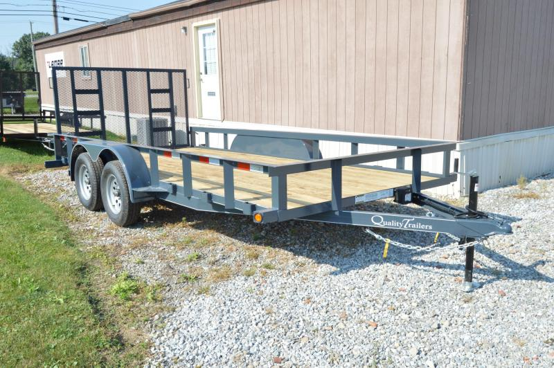 2019 Quality Trailers 82x16 Gen. Duty Utility Trailer