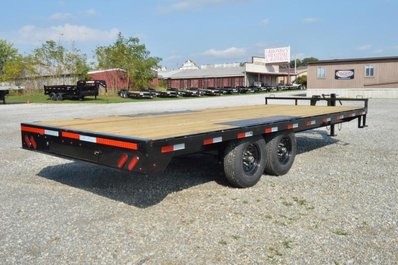 2020 Lamar Trailers 102x20 Deck-Over Equipment Trailer