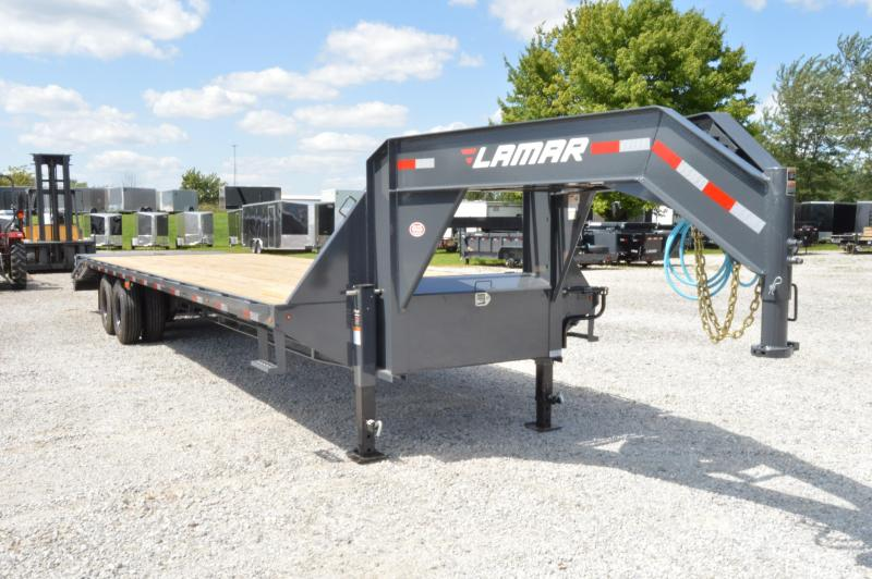 2020 Lamar Trailers 102x32 Deck Over Equipment Trailer