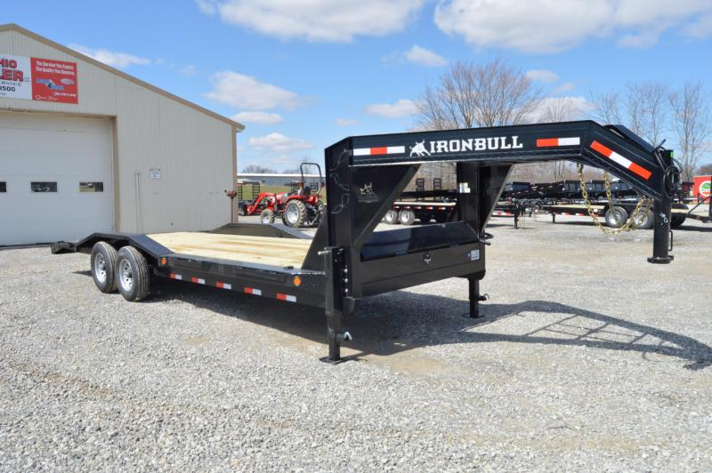 2019 Iron Bull 102x24 Goseneck Equipment Trailer