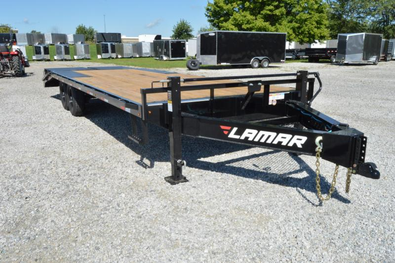 2020 Lamar Trailers 102x24 Deck Over Equipment Trailer