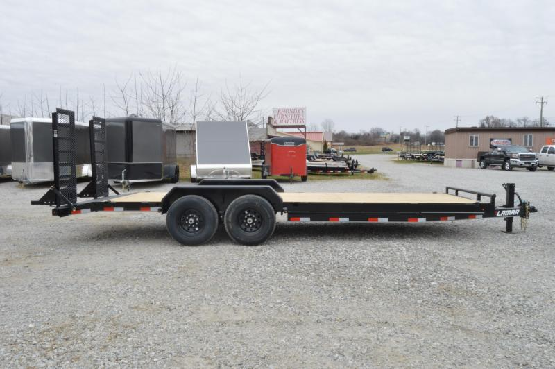 2020 Lamar Trailers 83X22 Equipment Trailer
