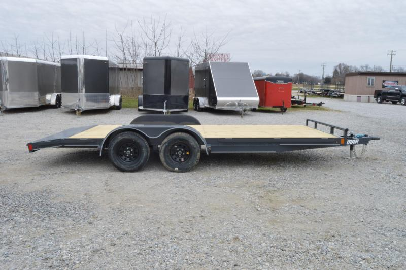 2020 Lamar Trailers 83x18 Classic Equipment Trailer