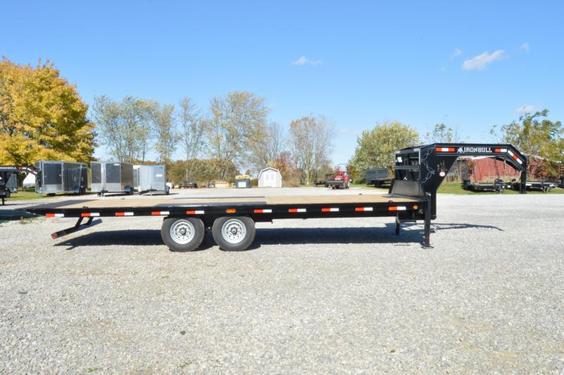 2020 Iron Bull 10X24 Tilt Dck-Over Equipment Trailer