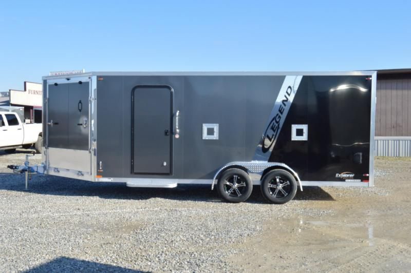 2019 Legend Trailers 7X23 EXPLORER Snowmobile Trailer
