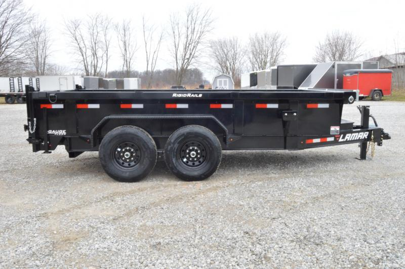 2020 Lamar Trailers 83X14  Low-Pro Dump Trailer