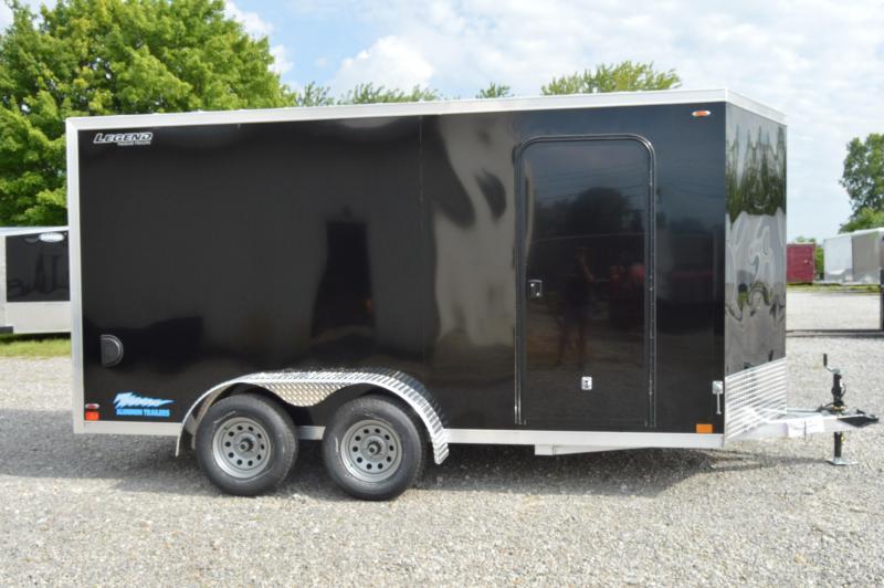 2020 Legend Manufacturing 7X16 TV Enclosed Cargo Trailer