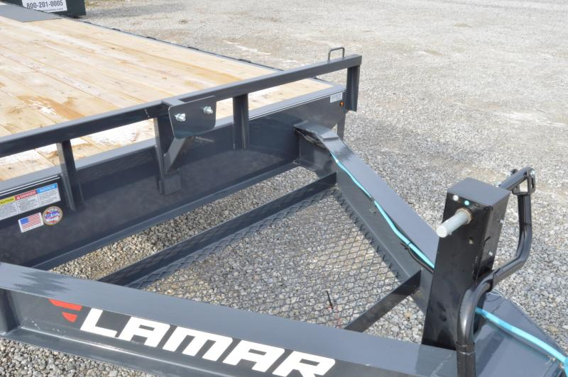 2020 Lamar Trailers 102x24 Deck Over Equipment Trailer