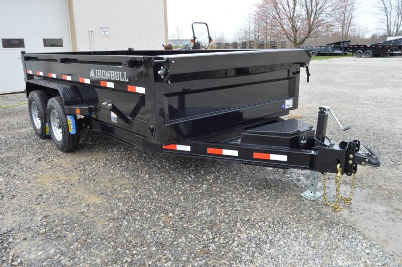 2019 Iron Bull 83X14 LOW PRO Dump Trailer