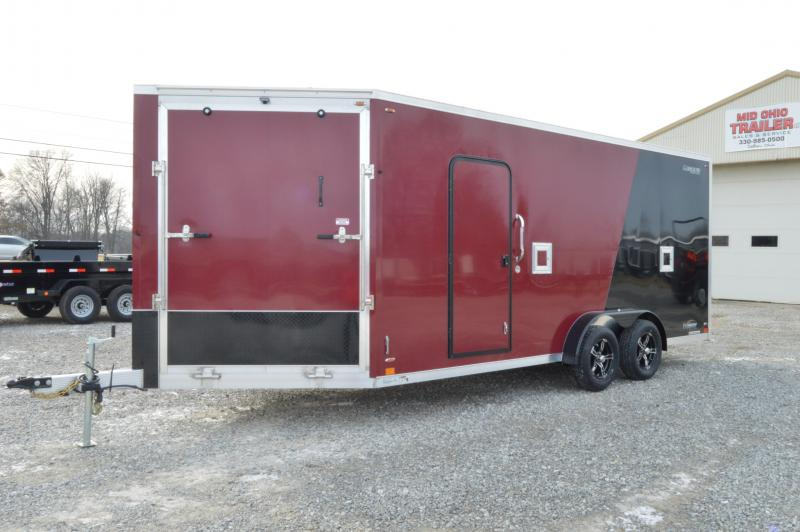 2020 Legend Trailers 7X23 Explorere Blackout Snowmobile Trailer