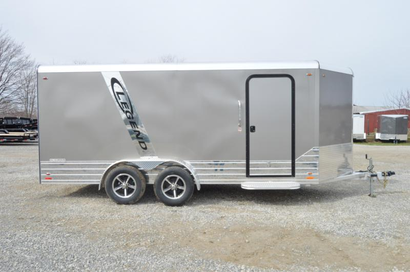 2019 Legend Manufacturing 7X19 DVN Enclosed Cargo Trailer