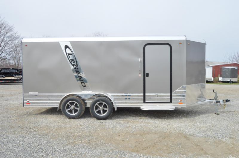 2019 Legend Manufacturing 7X19 DVN Enclosed Cargo Trailer