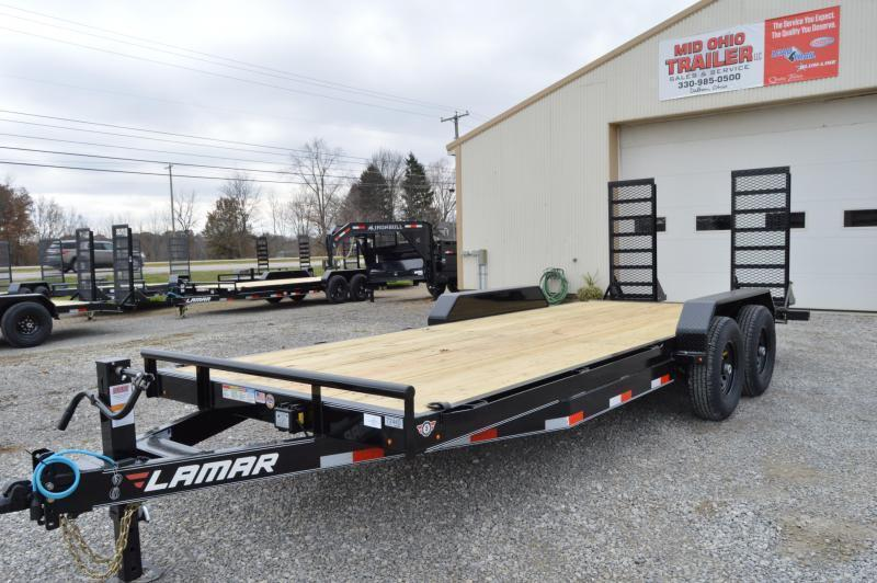 2020 Lamar Trailers 83X20 Equipment Trailer