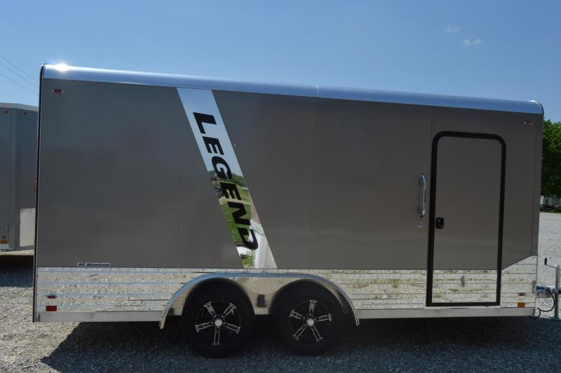 2020 Legend Trailers 8X19DVN Enclosed Cargo Trailer