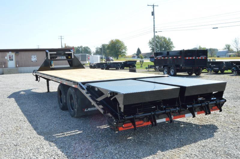 2020 Lamar Trailers 102x25 Deck Over Equipment Trailer