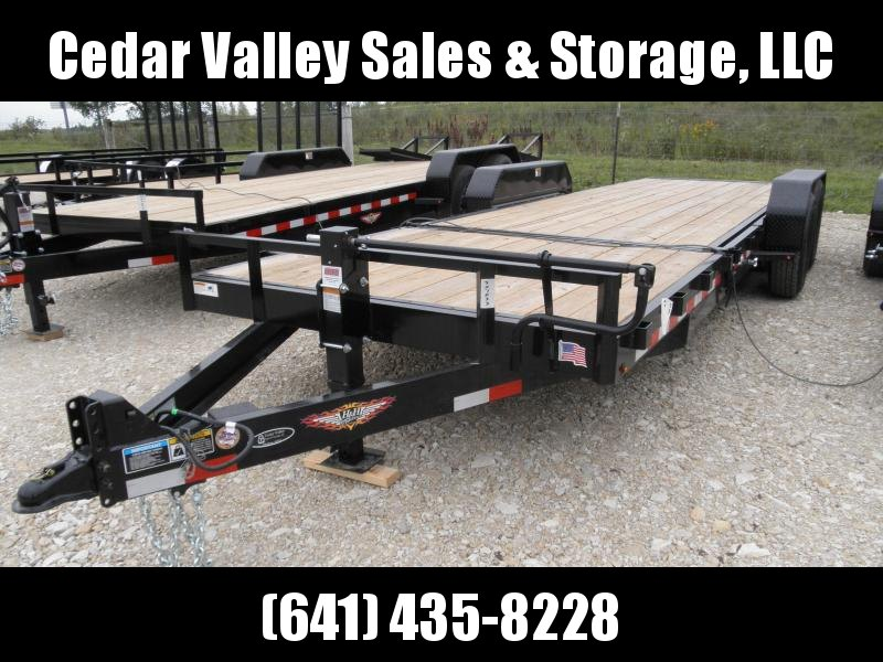 2020 H and H Trailer H186GTL-140 Equipment Trailer