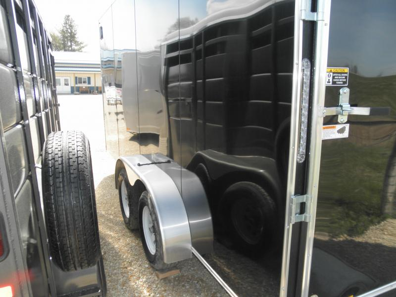 2020 H&H Trailer 7X16 Enclosed Cargo Trailer with 7 ft walls!