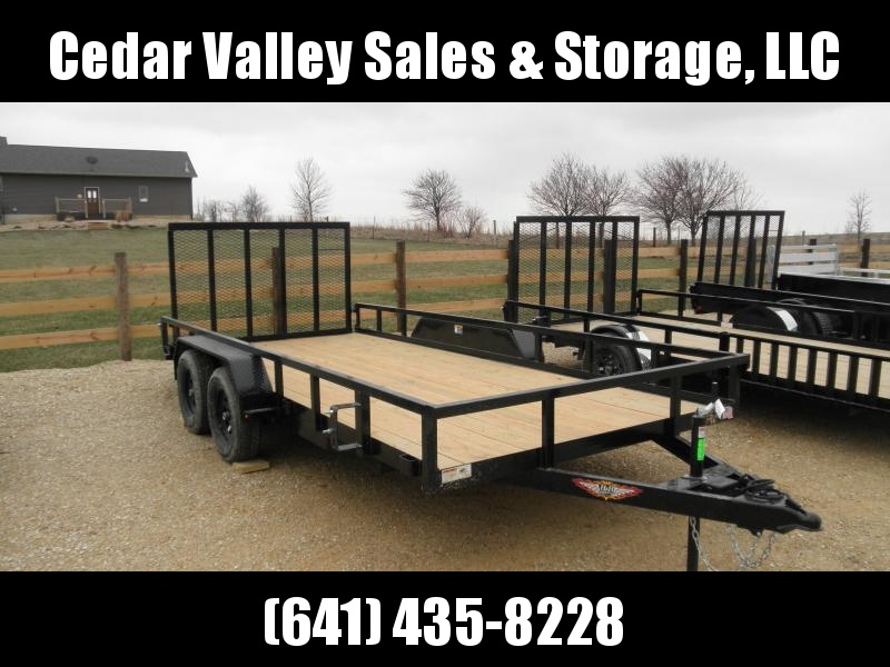 2020 H and H Trailer H8216TRS-070 Utility Trailer