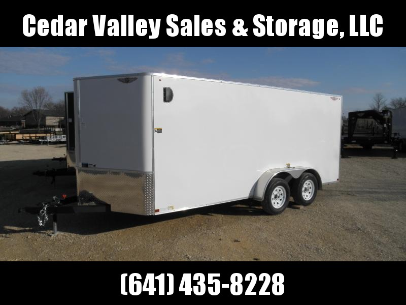 2020 H and H Trailer H8416TFTV-070 Enclosed Cargo Trailer