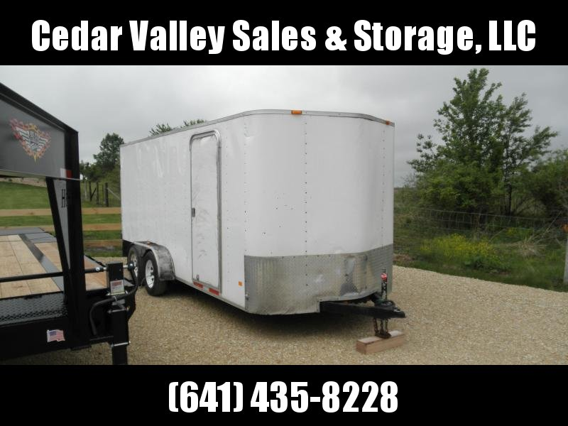 2011 Look Trailers 7x16 Enclosed Cargo 7K