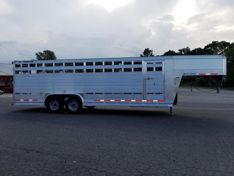 2019 Eby Trailers 24ft Ruff Neck Livestock Trailer