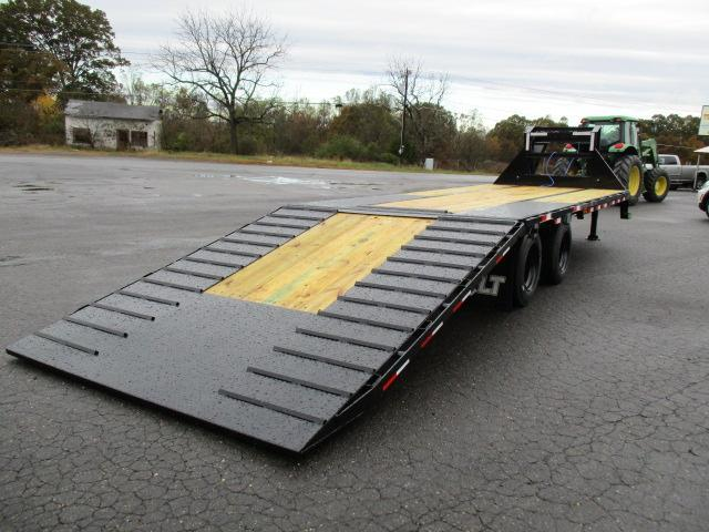 2020 Load Trail 102 x 30 Low Pro Hyd Dove Equipment Trailer