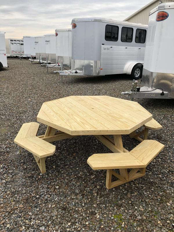 8' Octagon Picnic Table